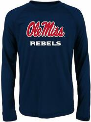 Ole Miss Rebels Official NCAA Apparel Loyal Fan Performance Tee NWT Youth XL