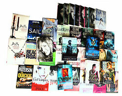 Wholesale Job Lot Of 100 Fiction Crime Books, Best Selling Brand New Free P And P