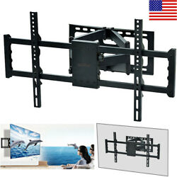 Adjustable TV Wall Mount Bracket Full Motion Double Arm for 30-85