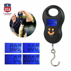 LCD Digital Fish Scale Postal Hanging Hook Luggage Weight LCD Mini 110lb Travel