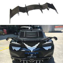 Carbon Rear Boot Spoiler Racing Wing For Chevrolet Camaro Coupe 16-19 Customized