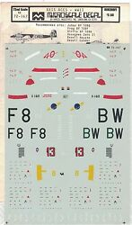 Micro Scale Decals Wwii Axis Aces German Me-109 Japanese Zero Military 172