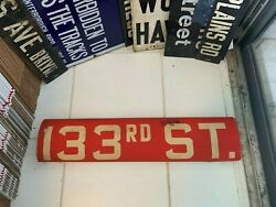 Nyc Bus Roll Sign Ny Bronx West Farms 133rd Street Billie Holiday Home Swing Era