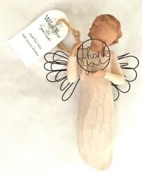 Willow Tree 4 1/4 Thank You Angel W Wire Wings - Figurine