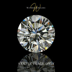 14.09ct Round Cut Loose Diamond HRD Certified LVS2 + Free Ring (190000066584)