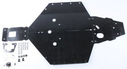 Open Trail 1/2 Uhmw Skid Plate Bash Polaris Rzr S 1000 16-20 And Rzr S 900 15-20