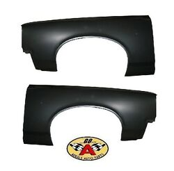 1966 GTO LEMANS FRONT FENDER PAIR- NEW LH RH STEEL
