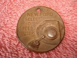 Old Ford Tractor Watch Fob Aq606