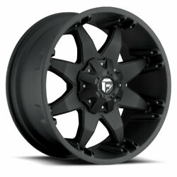 4 20x9 Fuel Matte Black Octane Wheel 5x139.7 And 5x150 For Ford Jeep Toyota Gm