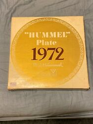 Goebel 1973 Hummel Annual Plate 12 Different Years In Boxandnbsp