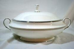 Lenox Murray Hill Round Covered Vegetable Dish 10 1/2 New With Tag 2nd Quality