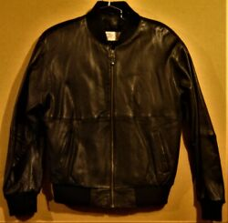 Chicago White Sox Zip Front Leather Jacket