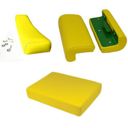 New Complete Seat Set With Arm Rests Fits John Deere 530 630 620 720 730 Tractor