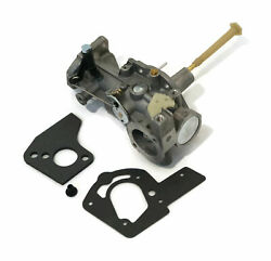 New Carb / Carburetor And Gaskets Fits Briggs And Stratton Model 136232 137202 1