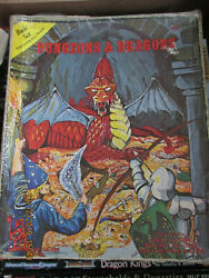 Games Workshop Dandd Basic Set Vgc 1001 Extra Deep Boxed Taped Dungeon Dragon