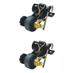 Pair Retractable Ratchet Tie Down 5480007 Cargobuckle G3 For Trucks And Trailers