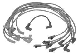 84-816608q68 Quicksilver Spark Plug Wire Kit-for Gm V-8 350 And 454/502 Cid Engine