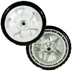 Two 2 119-0311 Replacement Fwd 8 Inch Drive Wheels Fits Toro 22 Recycler Mowe