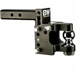 Bandw Hitches Ts20056 Universal Tow And Stow Pintle Combo Hitch 2.5 Receiver