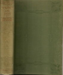 Dombey And Son By Charles Dickens Vol. I And Ii Centenary Edition 1911 Hardback