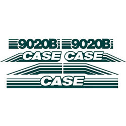 New Whole Machine Decal Set Fits Case Excavator 9020b Ns New Style