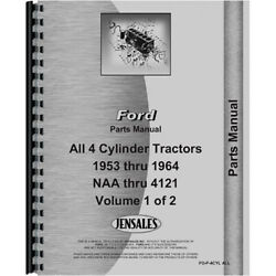 New Parts Manual Fits Ford 621 Tractor