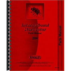 New International Harvester 284 Tractor Parts Manual