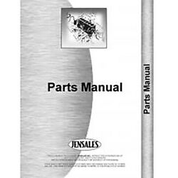 Tractor Parts Manual Fits Ford Sherman 54c600-6010 Fo-p-sher 54c