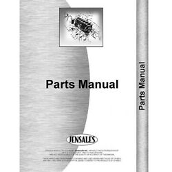 Operator And Tractor Parts Manual For Krause Tandem Disc Kr-op-952fh+