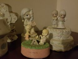 Precious Moments Large Lot -60 Collectibles/figurines-all Exc. Condition-see Pix