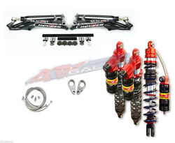Houser +2.25 A-arms Elka Legacy 3 Long Travel Front And Rear Shock Kit Yfz450