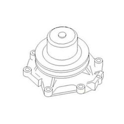 Re40239 Water Pump Fits John Deere 655b, 750b, 755b After Sn 208368,and