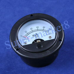 5pcs 100ma Panel Meter For 300b 2a3 845 50 Tube Amplifier