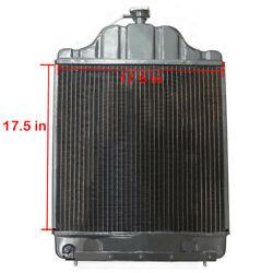 D89104 Radiator With 3 Rows Fits Case Backhoe 480c