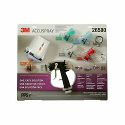 3m 26580 Accuspray One Spray Gun System With Pps Series 2.0 Spray Cup System