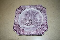 Macrown Ducal Vtg George Washington Bicentenary 1932 Plate-valley Forge J