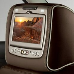 Genuine Gm Headrest And Video Screen Assembly 84247099