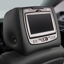Genuine Gm Headrest And Video Screen Assembly 84285343