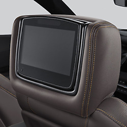 Genuine Gm Headrest And Video Screen Assembly 84339932