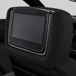 Genuine Gm Headrest And Video Screen Assembly 84687336