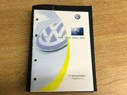 Volkswagen Vw Golf Service Book Brand New Not Duplicate Covers All Models Polo