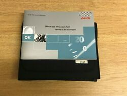 Audi Service Book Brand New And Genuine For All Petrol And Diesel