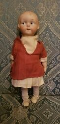 Antique Armand Marseille 210 Googly Campbell Kid Bisque Composition Doll 12
