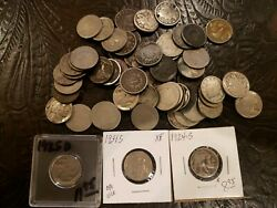 Us Buffalo And Liberty Nickels 62 Total 1924-s 1931-s 1925-d. Jp179