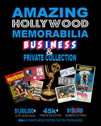 35000+ AUTHENTIC MOVIE POSTERS • Business & Private Collection • PROPS & MORE!
