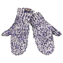 Baltimore Ravens Mittens Chunky Knit Gloves Winter New Women's Team Colors