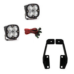 Baja Designs A-pillar Mount With Squadron Pro Lights For 09-14 Ford F-150 Raptor
