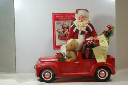 Dept 56 2019 Clothtique Possible Dreams Red Pedall Truck Light Up 11 1/2