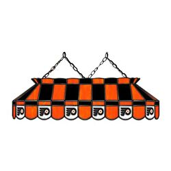 Nhl Philadelphia Flyers Hockey Stained Glass Pool Table Light-new-made In Usa