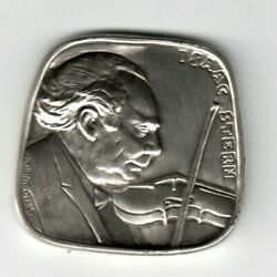 One Of The Largest And World-famous Musicians Of The 20th Century Silver Medal